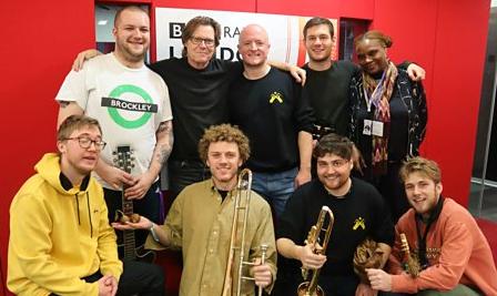 Chainska Brassika at BBC Radio London