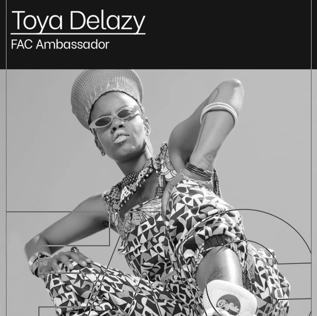 Toya Delazy FAC Artist Ambassador